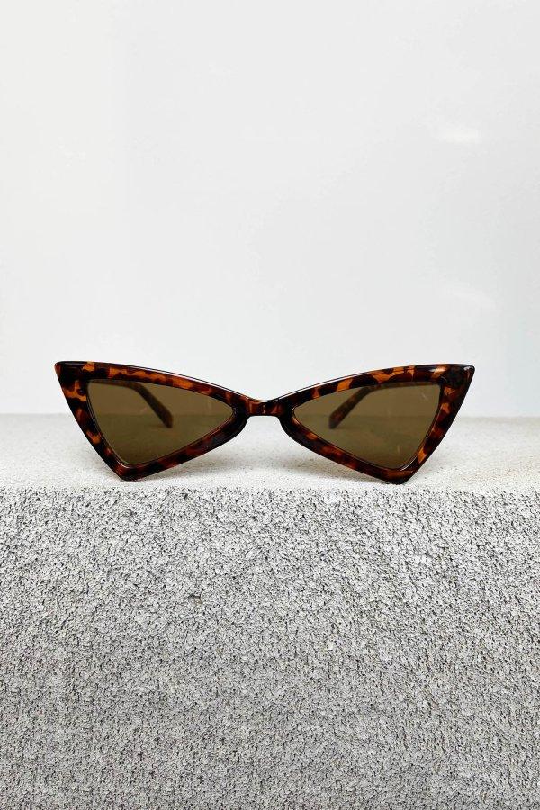 ΑΞΕΣΟΥΑΡ Heart γυαλιά ηλίου μαύρος ταρταρούγα σκελετός καφέ φακός