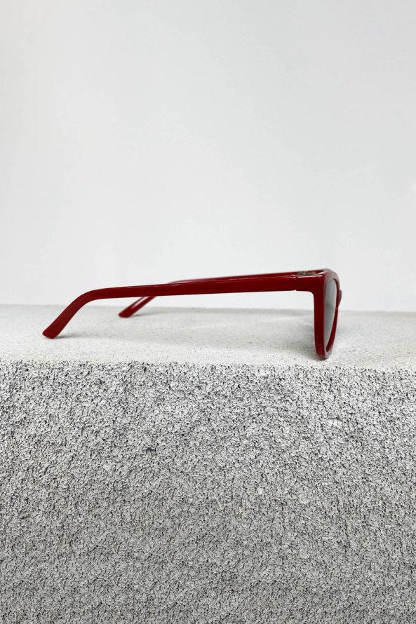 ΑΞΕΣΟΥΑΡ ΠΡΟΣΦΟΡΕΣ Editor γυαλιά ηλίου κόκκινος σκελετός μαύρος φακός