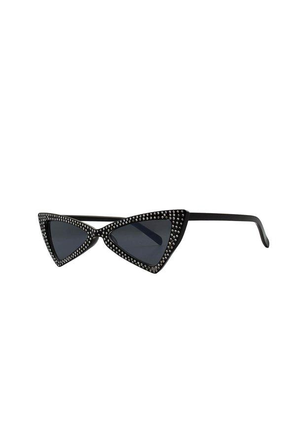 ΑΞΕΣΟΥΑΡ Exam γυαλιά ηλίου μαύρος σκελετός μαύρος φακός