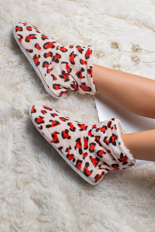 Slippers Adda slippers κόκκινο