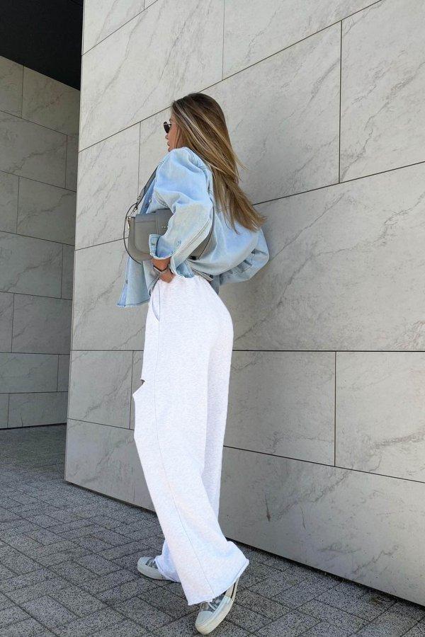 ΠΑΝΤΕΛΟΝΙΑ Borrow παντελόνι λευκό