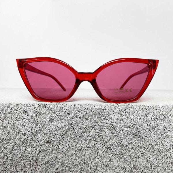 ΓΥΑΛΙΑ ΗΛΙΟΥ Article γυαλιά ηλίου κόκκινος σκελετός ροζ φακός