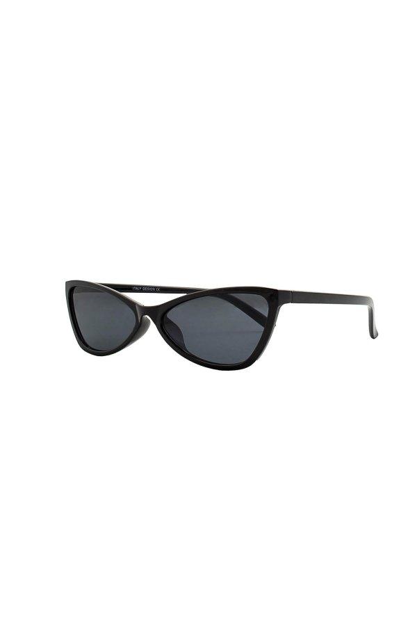 ΑΞΕΣΟΥΑΡ Editor γυαλιά ηλίου μαύρος σκελετός μαύρος φακός