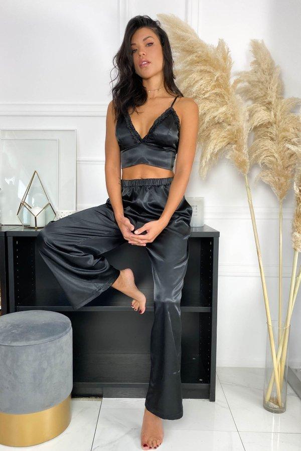 HOMEWEAR Rush παντελόνα homewear μαύρο
