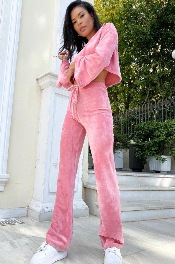 ΜΠΛΟΥΖΕΣ Ritzy σετ ροζ