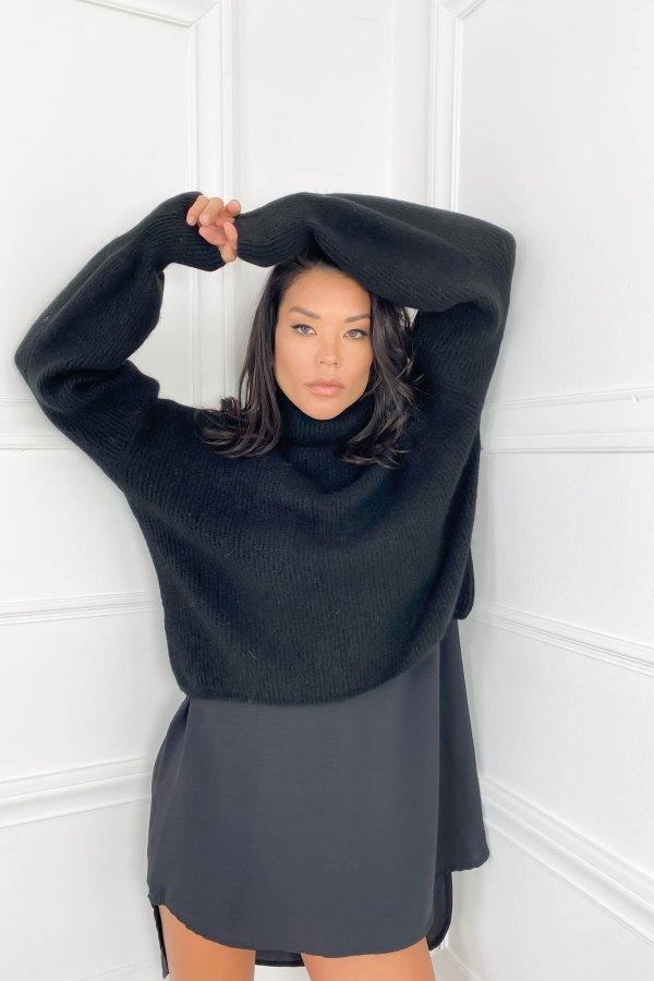 ΠΛΕΚΤΑ SALES Comeback μπλούζα μαύρο