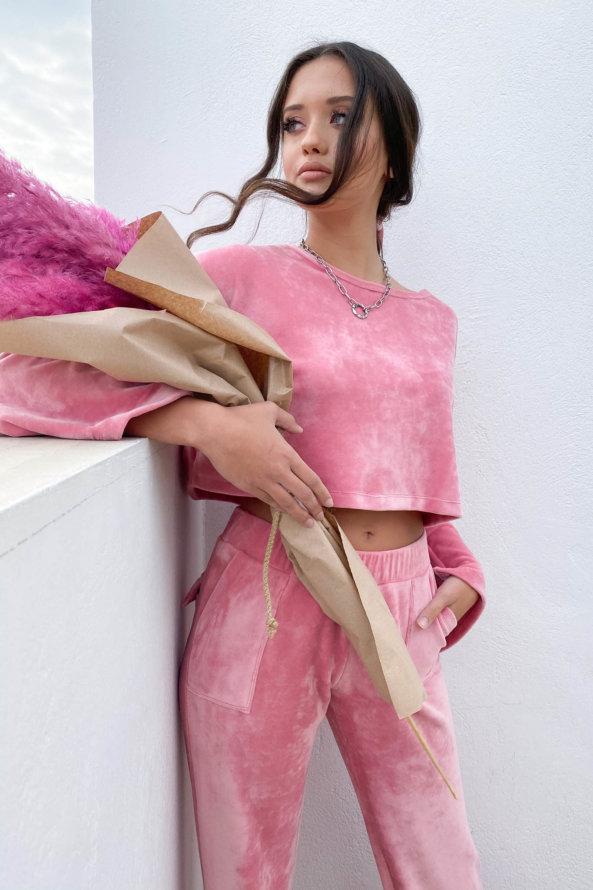 ΤΟΠ Glossy τοπ ροζ