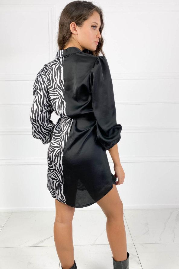 ΜΙΝΙ ΦΟΡΕΜΑΤΑ Absurd φόρεμα zebra white