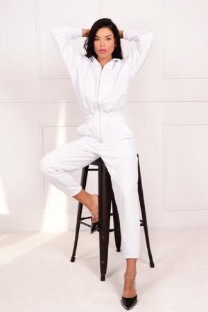 ΟΛΟΣΩΜΕΣ ΦΟΡΜΕΣ Campaign ολόσωμη φόρμα λευκό