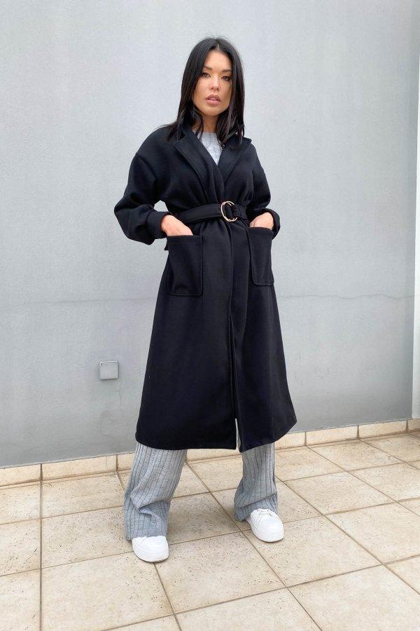 ΠΑΛΤΟ Stale παλτό μαύρο