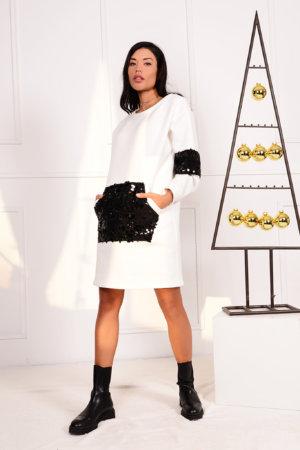 ΜΙΝΙ ΦΟΡΕΜΑΤΑ Organise φόρεμα λευκό