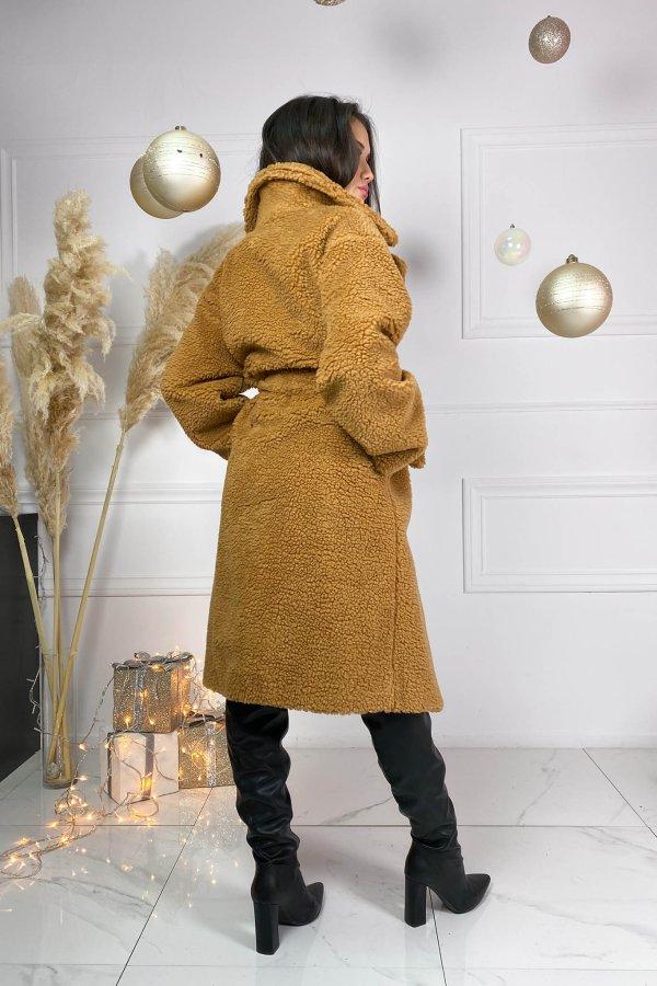 ΓΟΥΝΕΣ Nightcall παλτό κάμελ