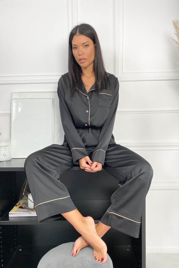 HOMEWEAR Sharp σετ homewear μαύρο