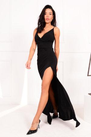 ΜΑΞΙ ΦΟΡΕΜΑΤΑ Continue φόρεμα μαύρο