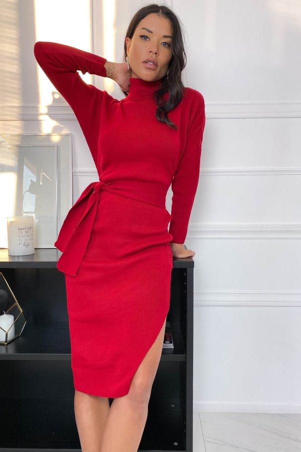 Available φόρεμα κόκκινο