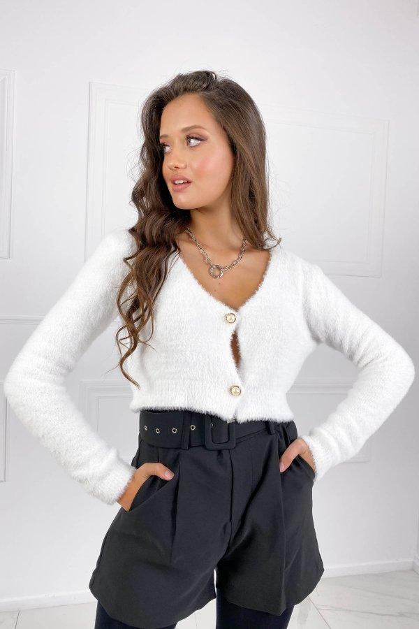 ΤΟΠ SALES Open μπλούζα λευκό