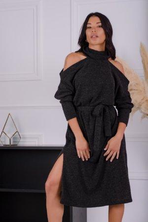ΜΙΝΤΙ ΦΟΡΕΜΑΤΑ Kitten φόρεμα μαύρο