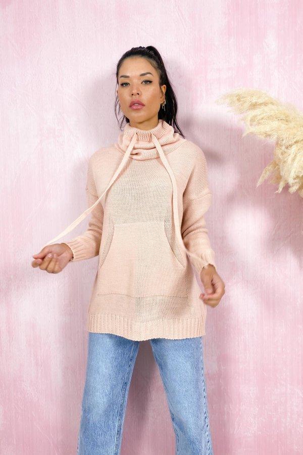 ΠΛΕΚΤΑ SALES Charter φόρεμα ροζ
