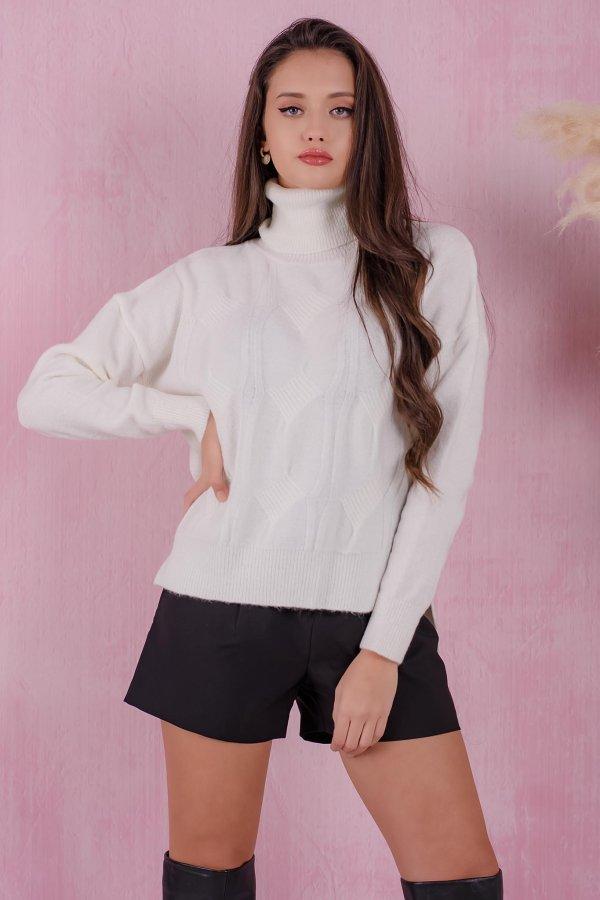 ΠΛΕΚΤΑ Shoot μπλούζα λευκό