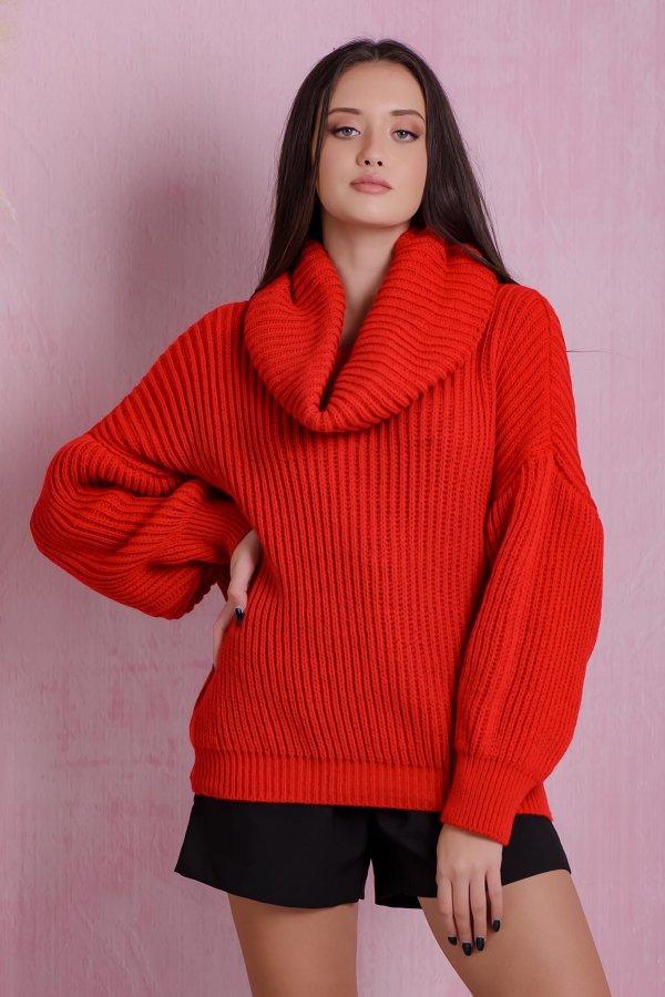 ΠΛΕΚΤΑ Snowdrop μπλούζα κόκκινο