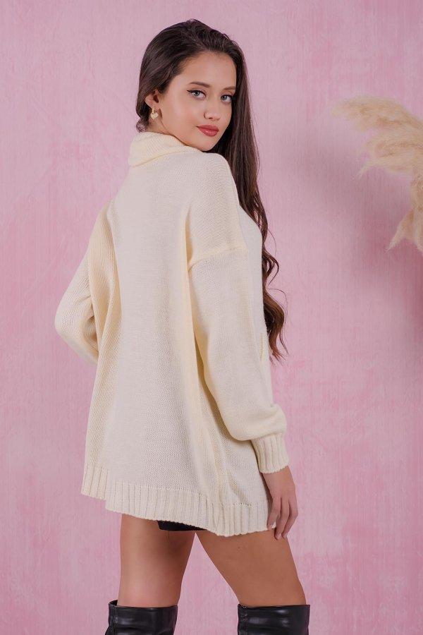 ΠΛΕΚΤΑ Charter φόρεμα off white