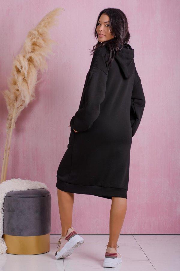 Tread φόρεμα μαύρο