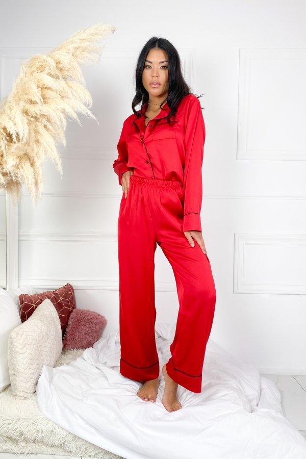 HOMEWEAR Sharp σετ homewear κόκκινο