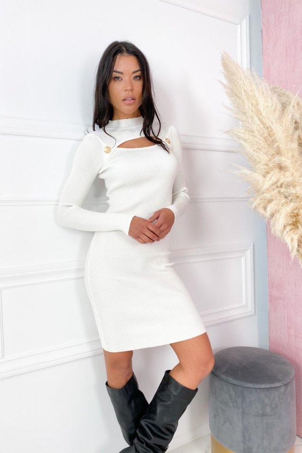 ΜΙΝΤΙ ΦΟΡΕΜΑΤΑ Urge φόρεμα λευκό