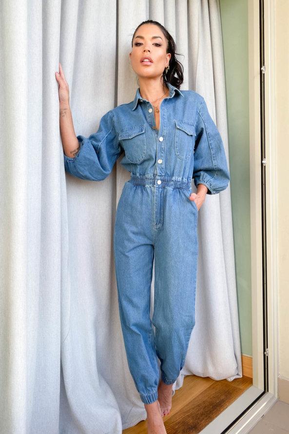 ΟΛΟΣΩΜΕΣ ΦΟΡΜΕΣ Crude ολόσωμη φόρμα μπλε