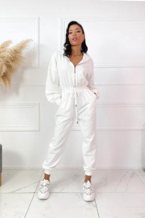 ΟΛΟΣΩΜΕΣ ΦΟΡΜΕΣ Girly ολόσωμη φόρμα λευκό