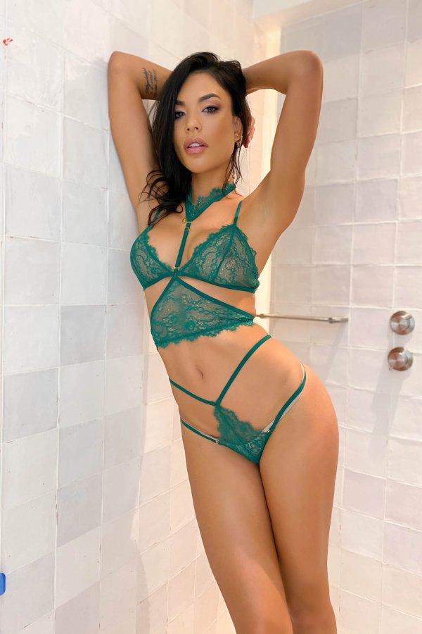 ΕΣΩΡΟΥΧΑ Signature lingerie πράσινο