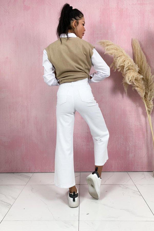 ΤΖΙΝ ΠΑΝΤΕΛΟΝΙΑ Stretch τζιν παντελόνι λευκό