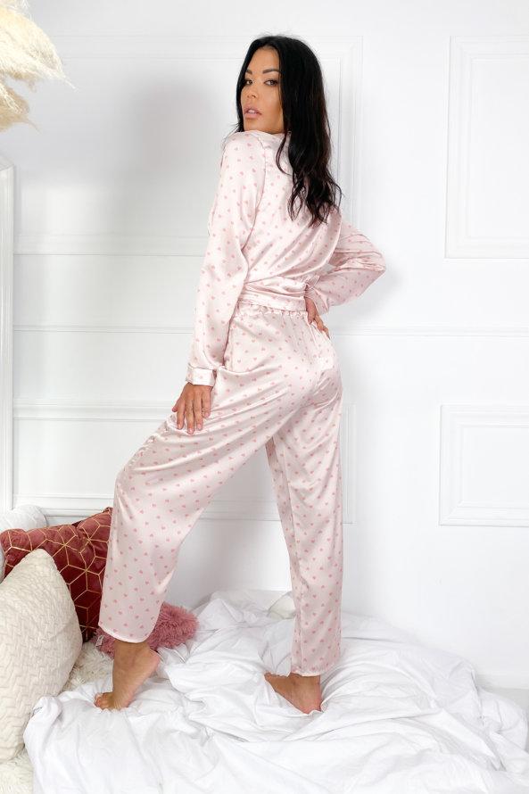 ΝΕΕΣ ΑΦΙΞΕΙΣ Salacious homewear ροζ με καρδούλες
