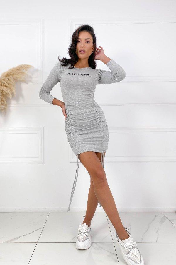 Baby Girl φόρεμα γκρι