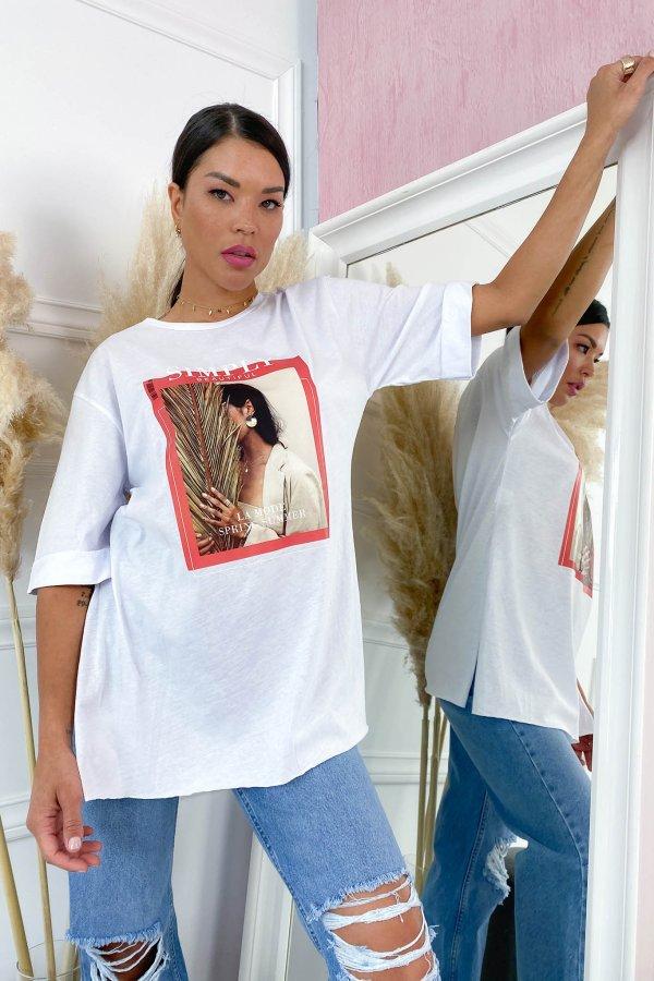 TSHIRTS Designer t-shirt λευκό