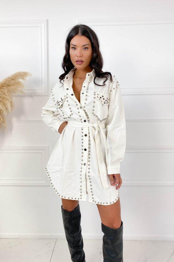 CASUAL ΦΟΡΕΜΑΤΑ Mild φόρεμα λευκό