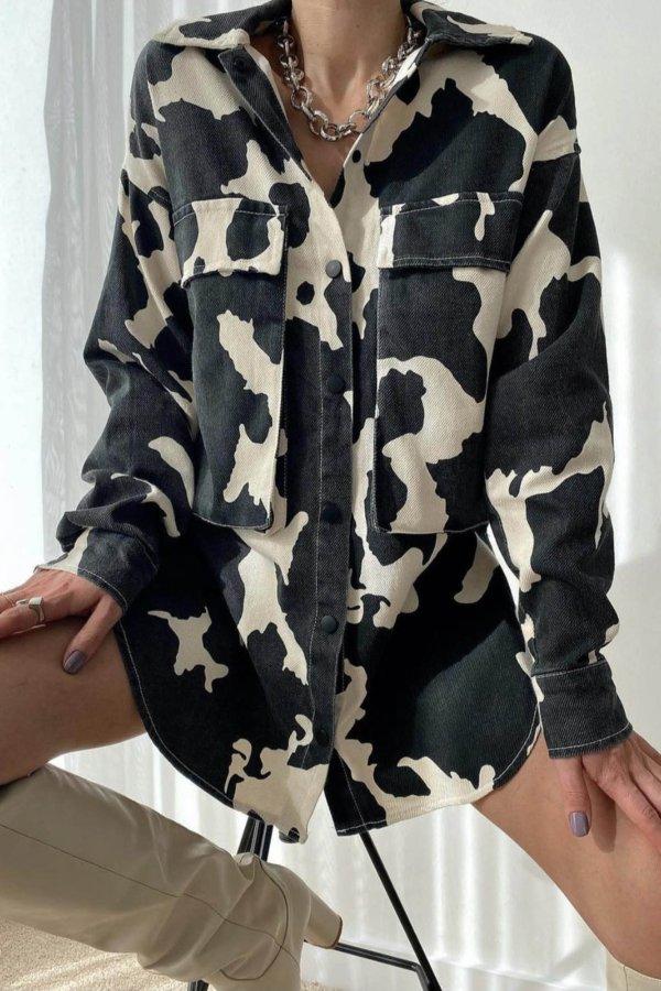 ΠΟΥΚΑΜΙΣΑ Witness πουκάμισο animal print