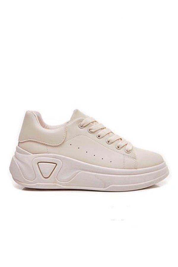 ΑΘΛΗΤΙΚΑ Diablo sneakers μπεζ