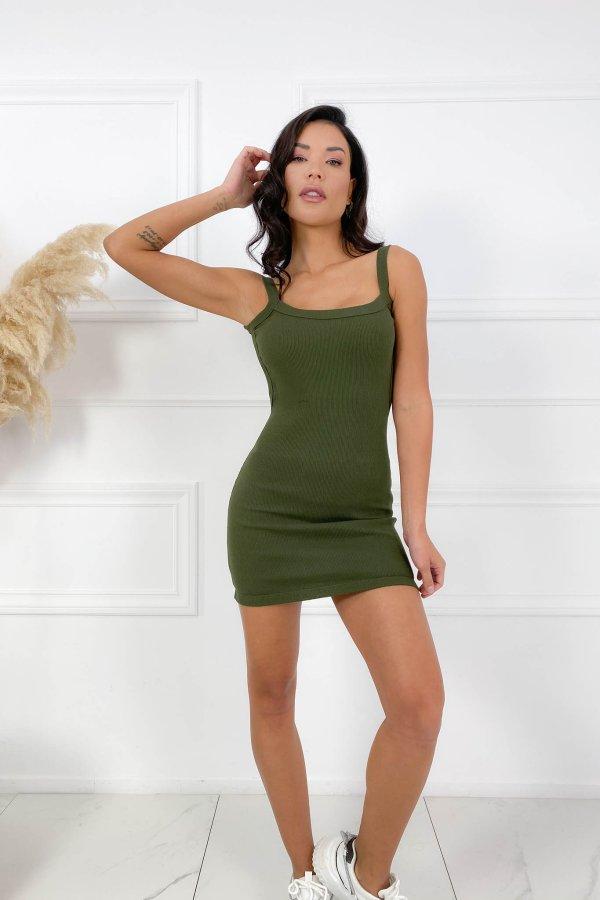 CASUAL ΦΟΡΕΜΑΤΑ Forbid φόρεμα χακί