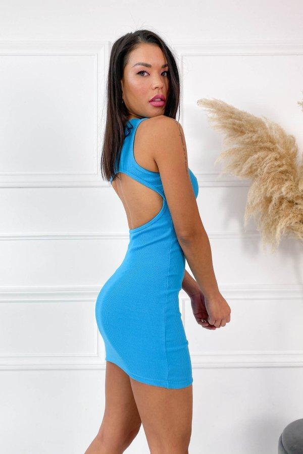 SALES Just business φόρεμα σιελ