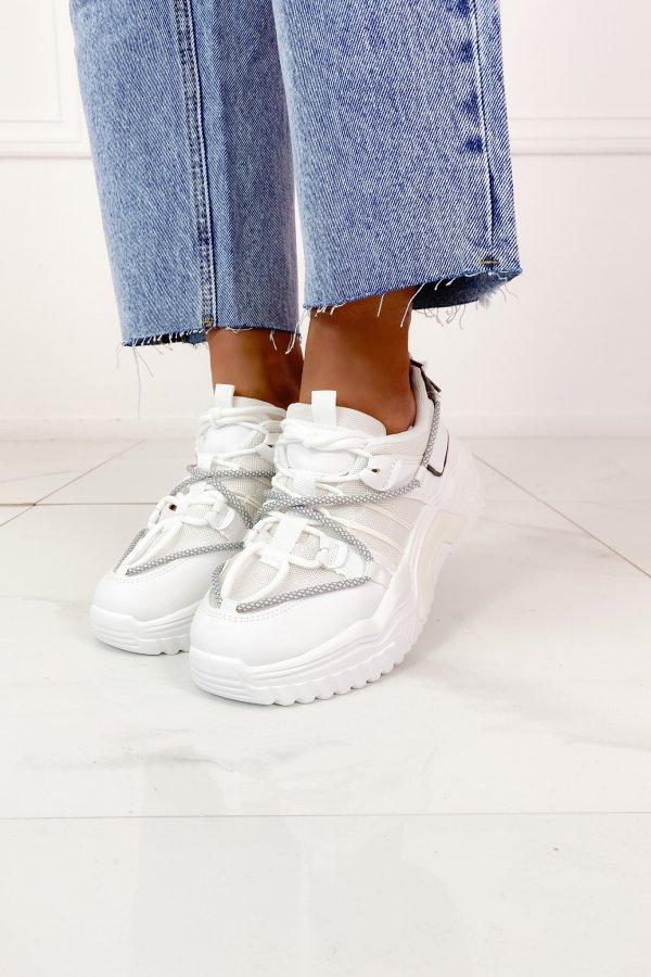 ΑΘΛΗΤΙΚΑ Piano sneakers λευκό