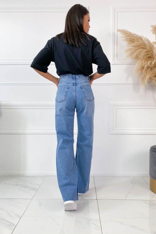 TZIN ΡΟΥΧΑ Maggie τζιν παντελόνι μπλε