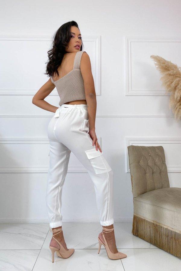 ΠΑΝΤΕΛΟΝΙΑ Spread παντελόνι λευκό