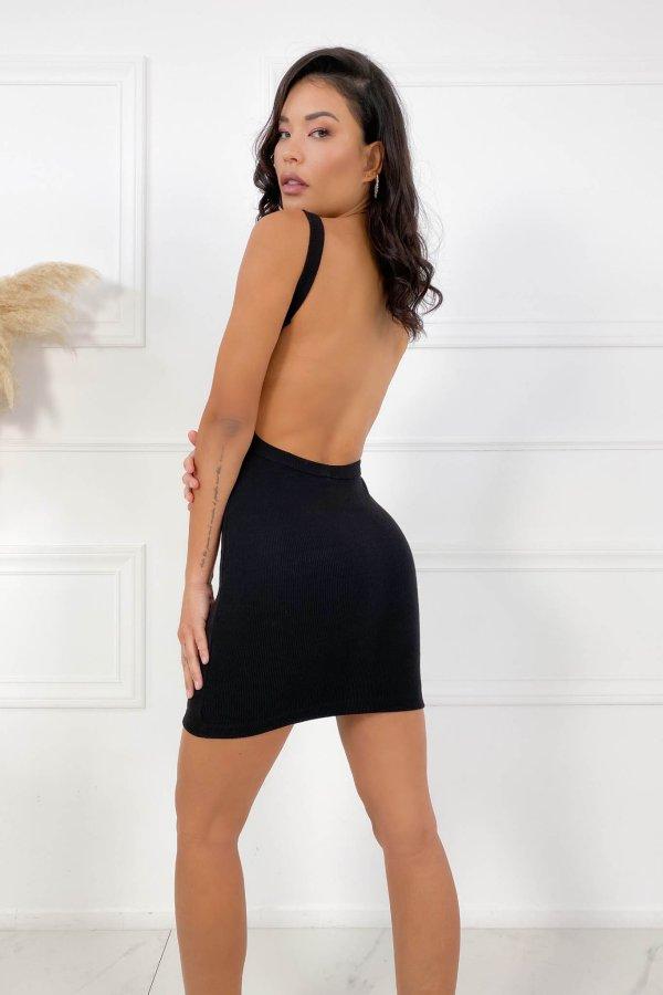 CASUAL ΦΟΡΕΜΑΤΑ Forbid φόρεμα μαύρο