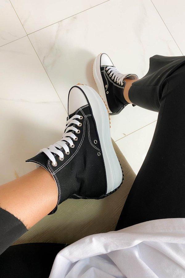 ΑΘΛΗΤΙΚΑ Chase sneakers μαύρο