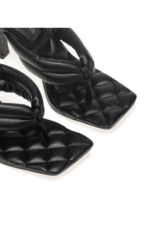 Amora mules μαύρο
