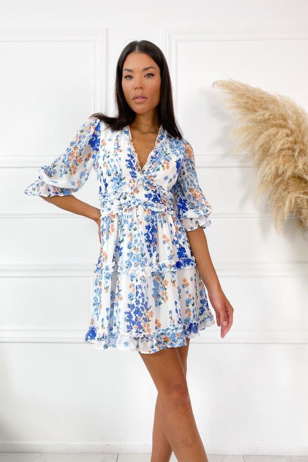 CASUAL ΦΟΡΕΜΑΤΑ Barrier φόρεμα σιελ