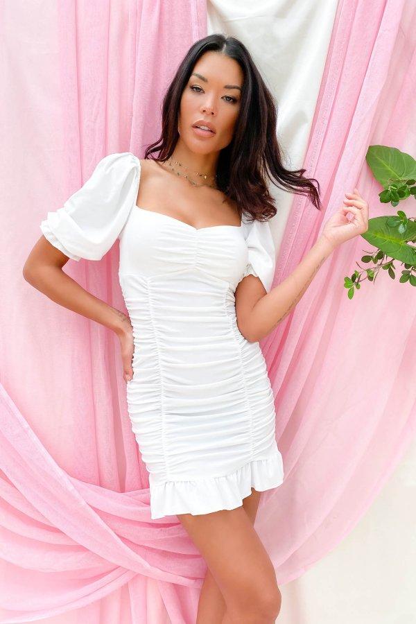 ΦΟΡΕΜΑΤΑ The one φόρεμα λευκό