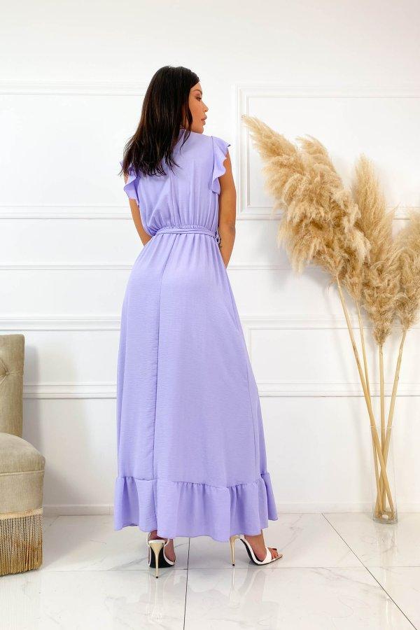 ΜΑΞΙ ΦΟΡΕΜΑΤΑ Brand φόρεμα λιλά