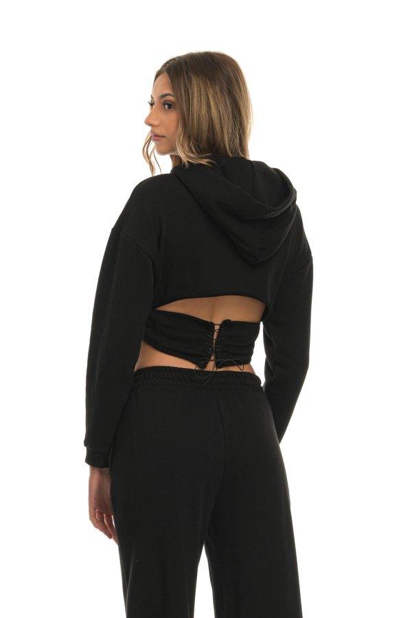 Afterhours μπλούζα μαύρο